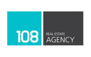 108 real estate agency logo